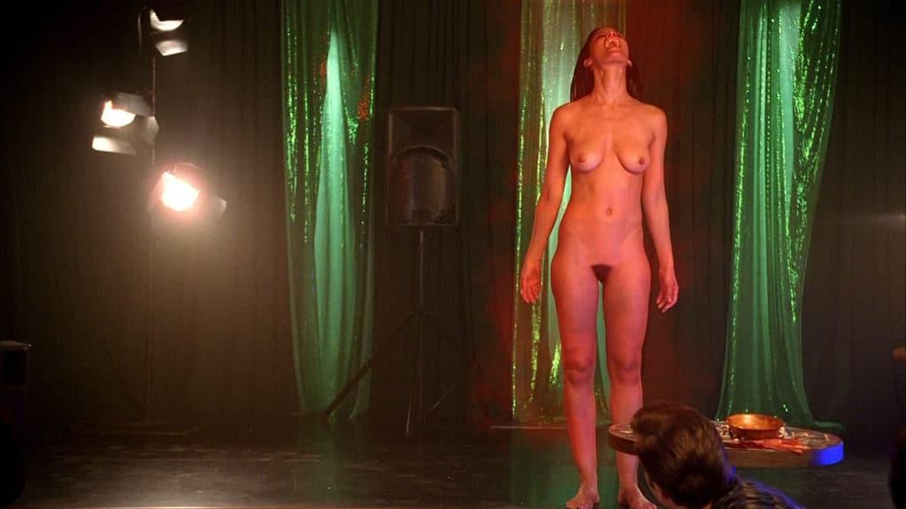 Jessica Clarks Nude Scene - Black Celebs Leaked-9697