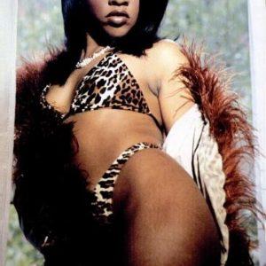 Lil Kim leopard Hard Core