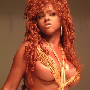 Lil Kim mature breasts