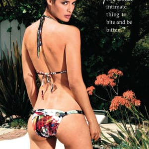 Maxim magazine photoshoot with Jessica Clark in bikini (1)