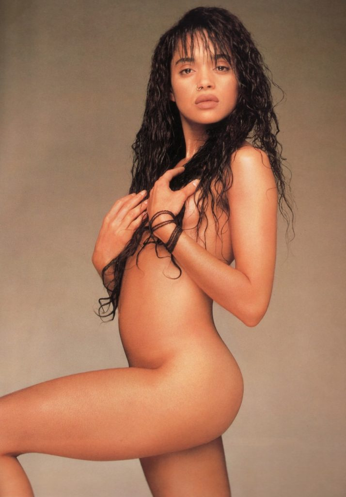 LIsa Bonet naked in magazine