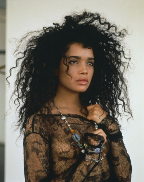 Lisa Bonet in see through shirt