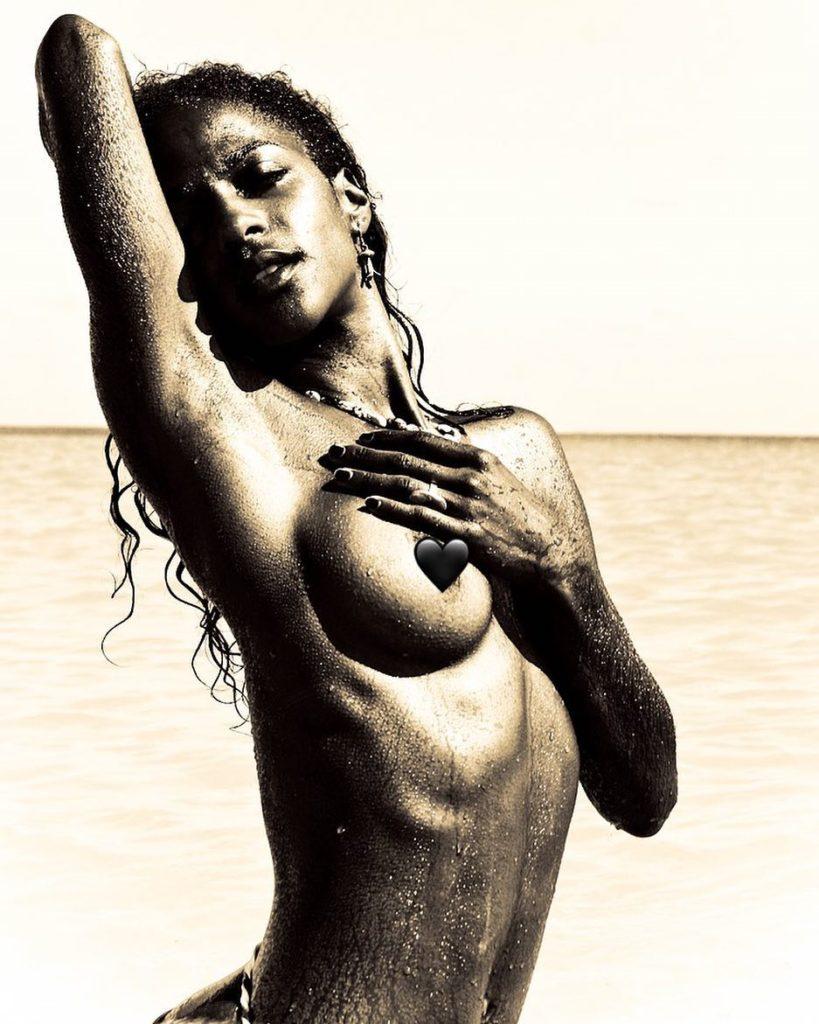 Megalyn Echikunwoke topless artistic