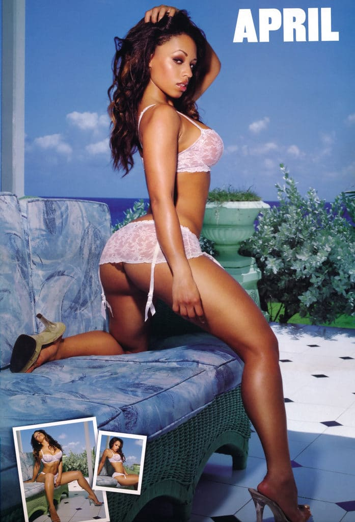Melyssa Ford garter belt amazing booty APRIL