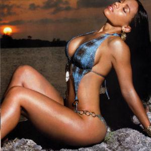Melyssa Ford glamour shot bikini