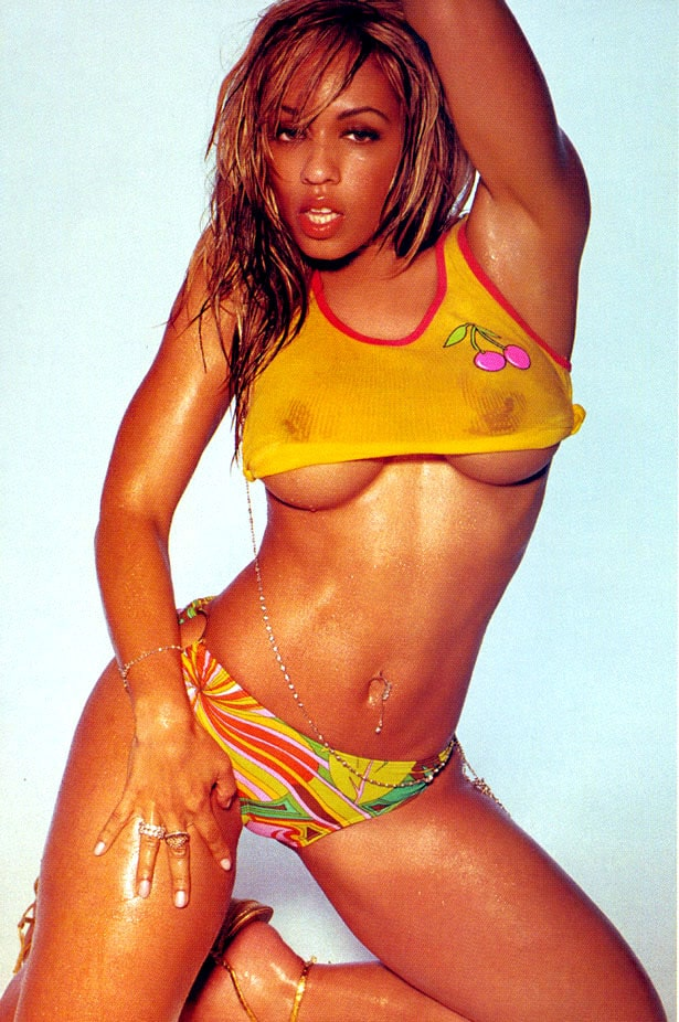 Melyssa Ford oldschool wet shirt nipples