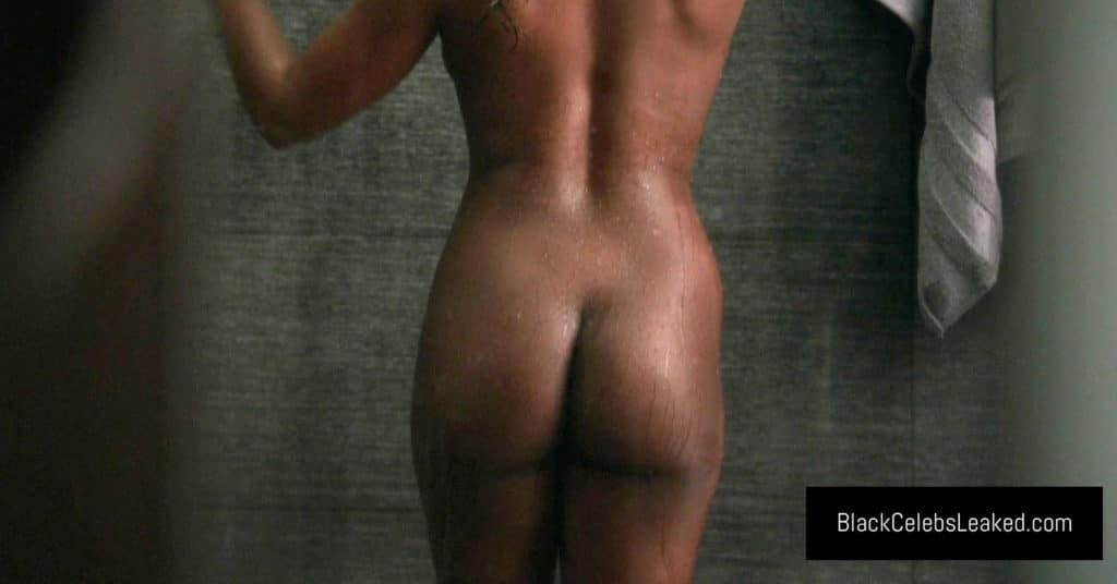 Naturi Naughton bare ass in the shower (HD)