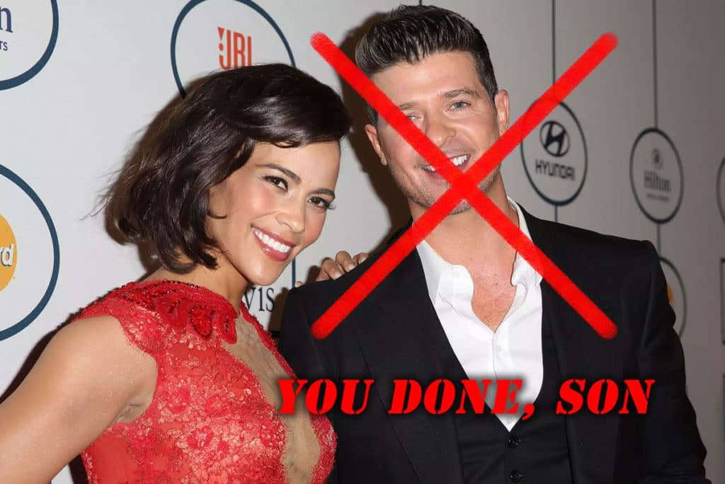 Paula Patton and Robin Thicke divorce