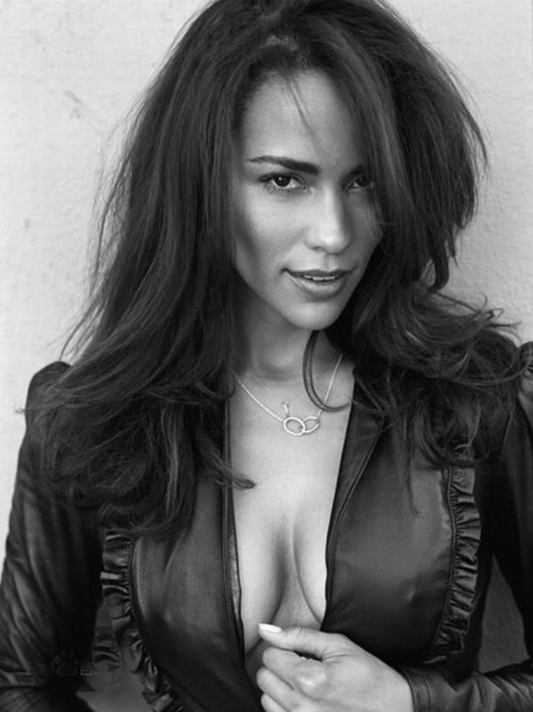 Paula Patton deep cleavage bnw