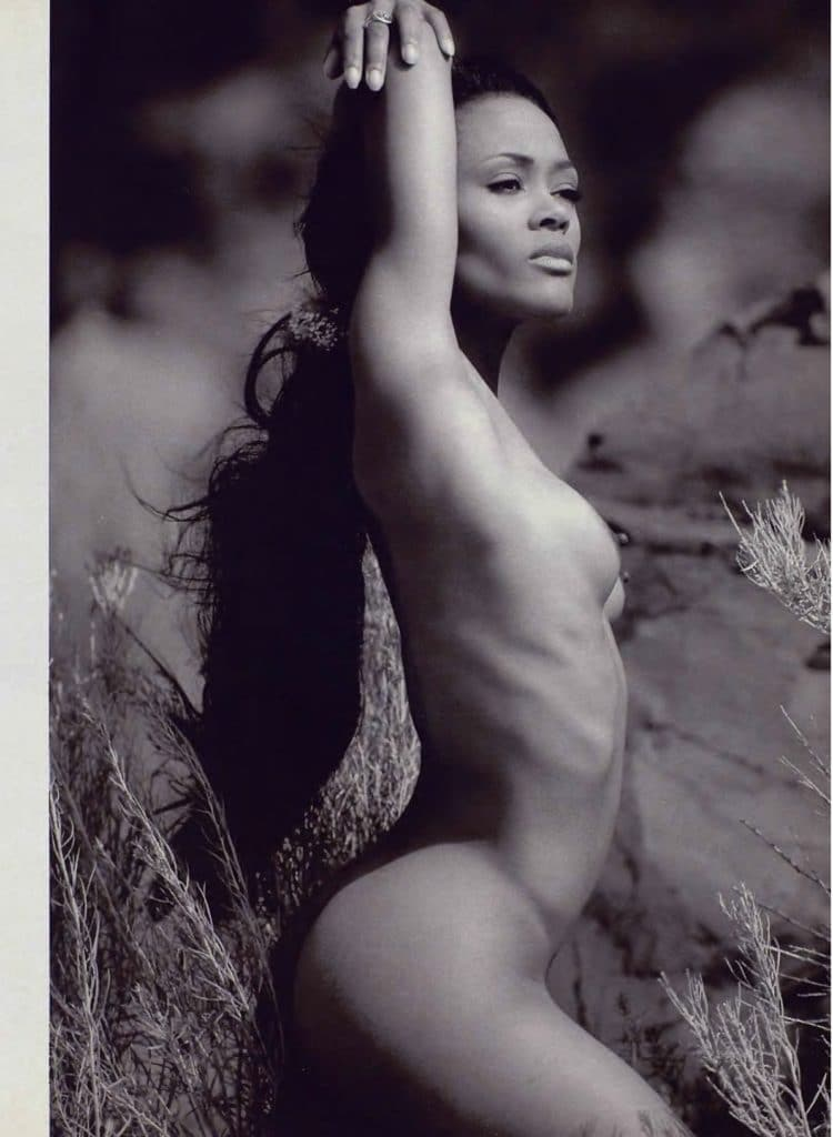 Robin Givens nude in Playboy