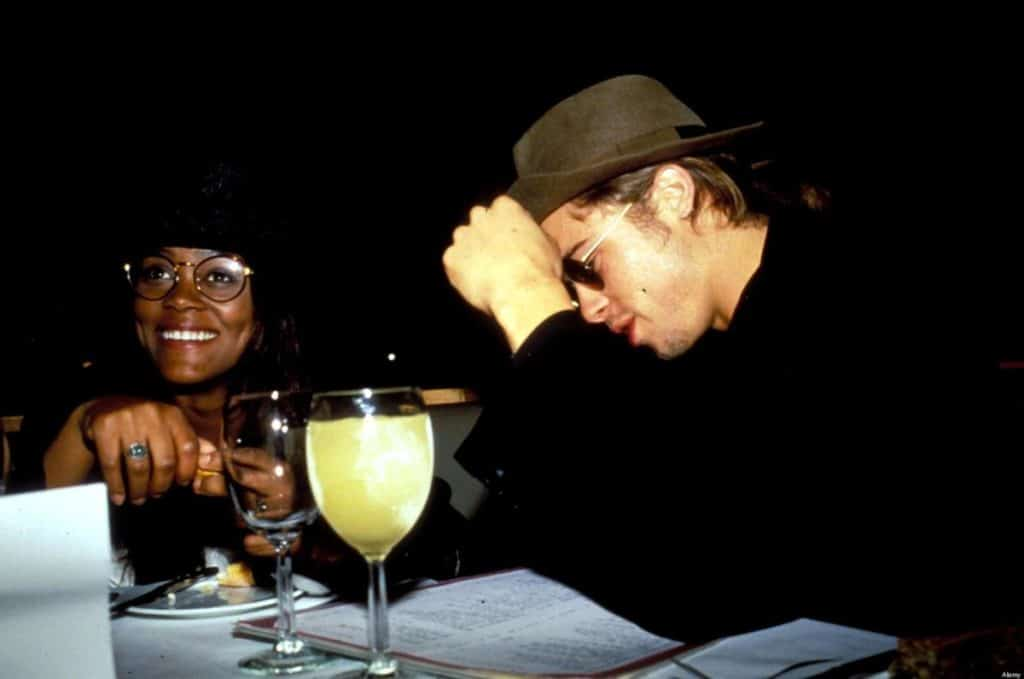 Robin Givens and Brad Pitt