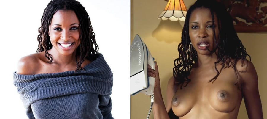 Shanola Hampton before and after undressed