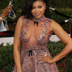 Taraji P. Henson see through nipples (1)