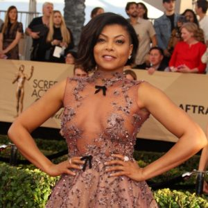Taraji P Henson nude on the red carpet