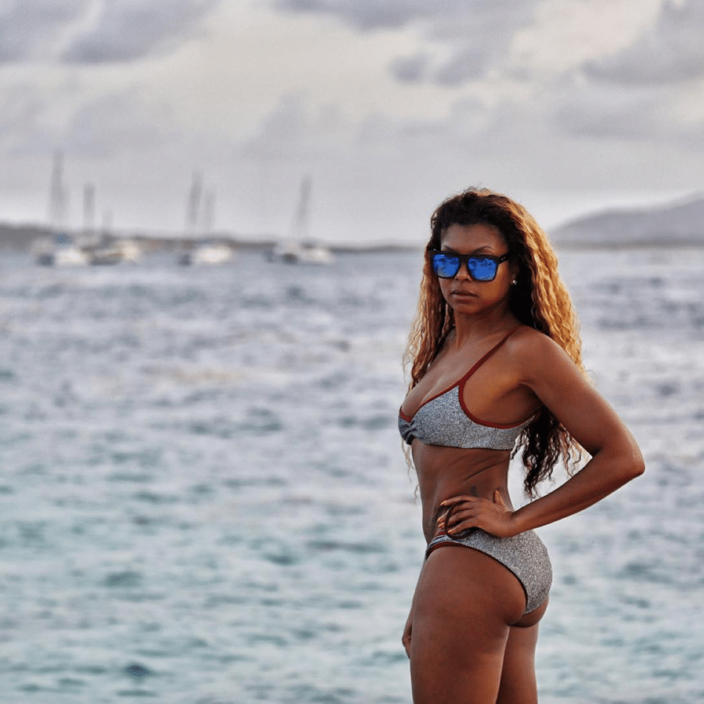 Taraji hottest bikini pic