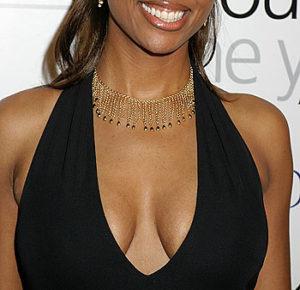 Aisha Tyler's cleavage