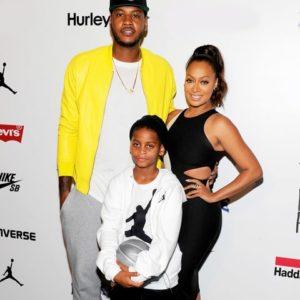 Carmelo Anthony, Lala Anthony and child