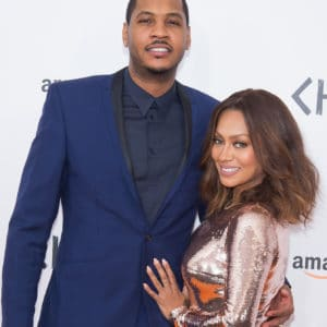 Carmelo Anthony and Lala photo