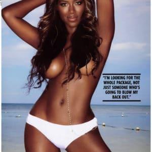 Kenya Moore topless