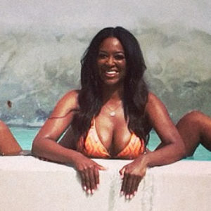 Kenya Moore: Sexy Former Miss USA Takes It Off