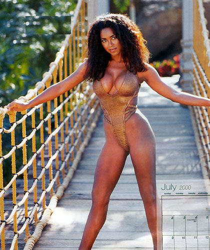 ebony model nude kenya moore - Check out this photo gallery of Kenya's hottest sexy photos, both new and  old. She is definitely one stacked woman, those tits must give her a  serious back ...