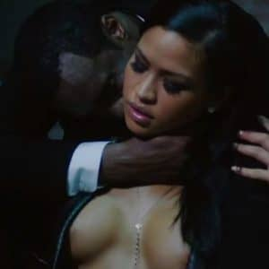 Cassie Ventura Topless In A Perfume Ad Singer