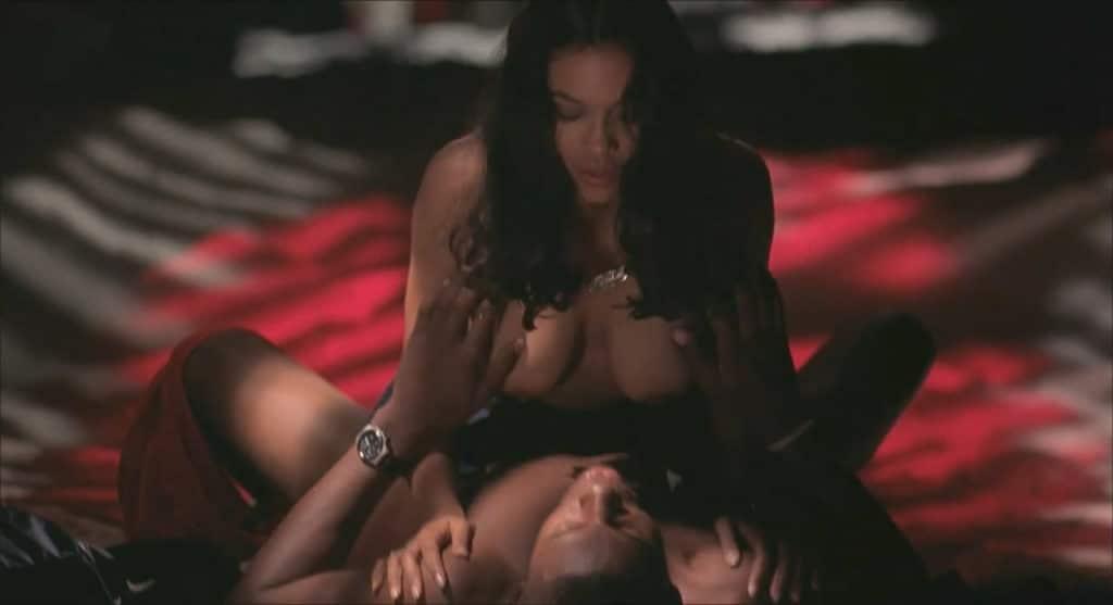 Rosario Dawson sex scene cowgirl