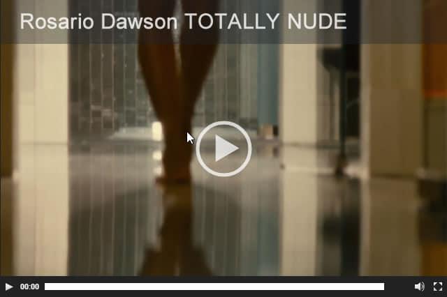 Rosario Dawson nude HD