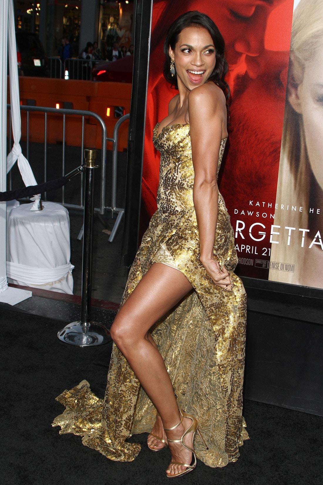 Stars Rosario Dawson Alxander Nude Pics Pic