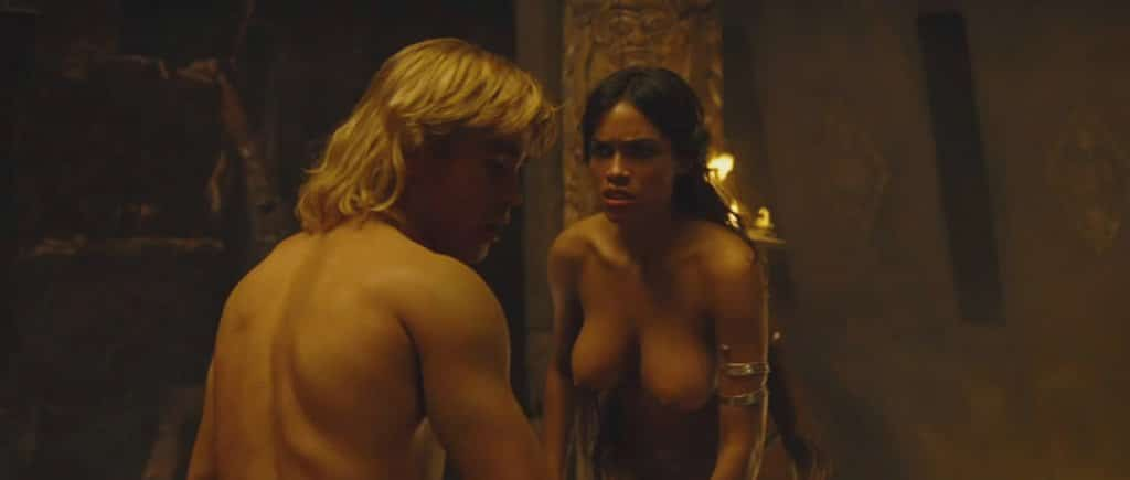 nude rosario dawson movie shots