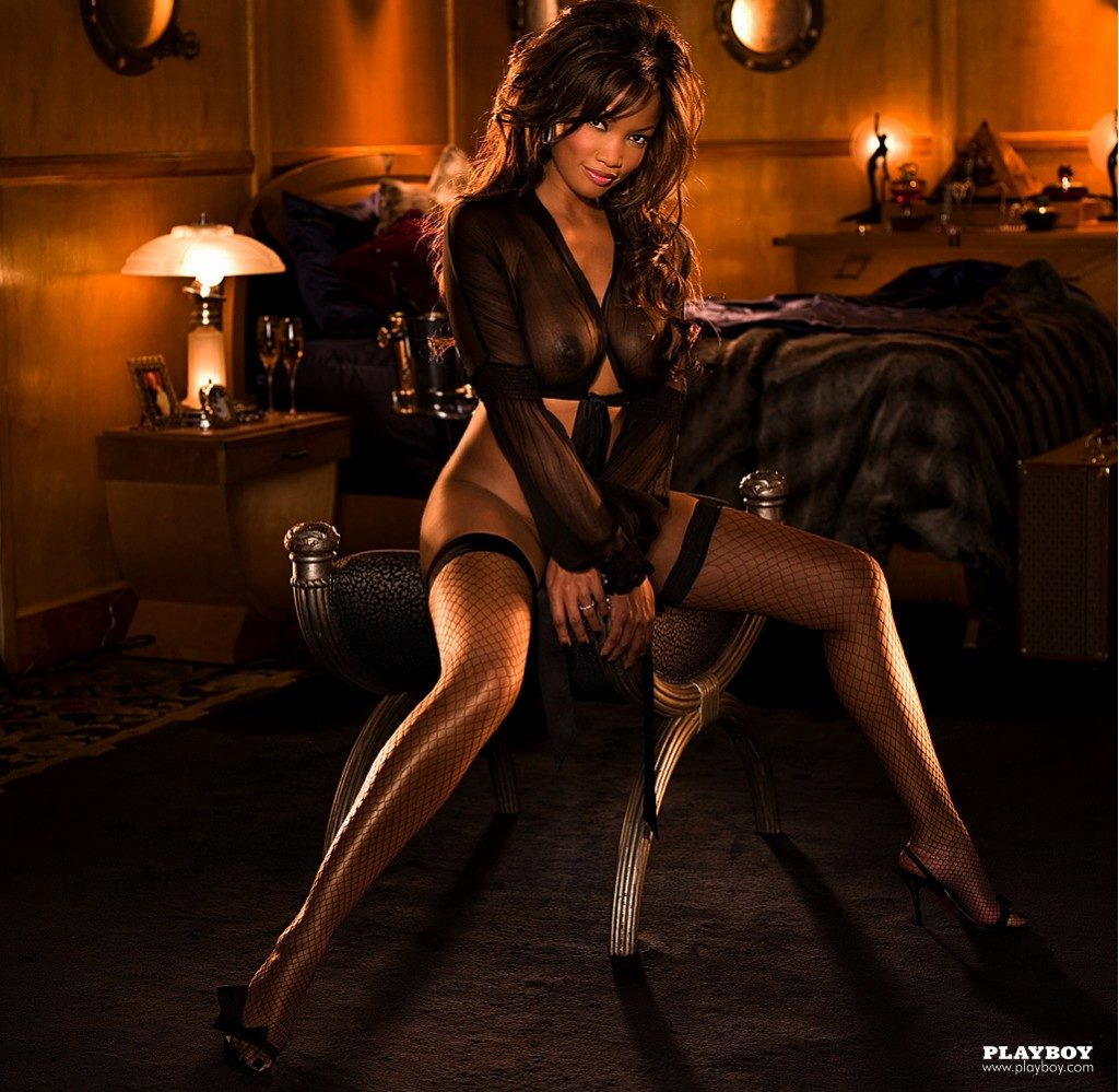 nude pictures of garcelle beauvais in playboy