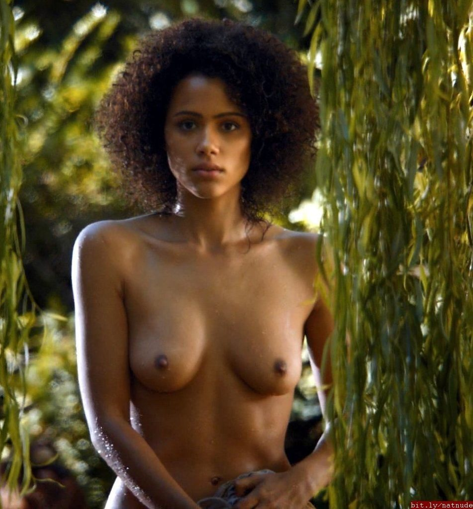 Nathalie Emmanuel naked scene from Game of Thrones