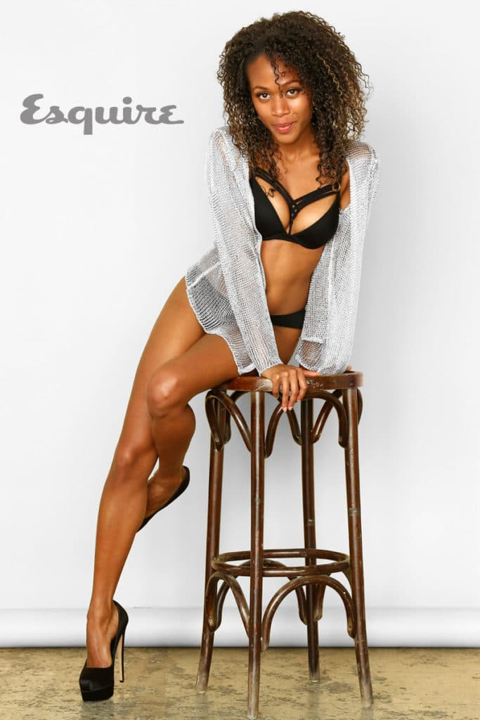 Nicole Beharie in Esquire