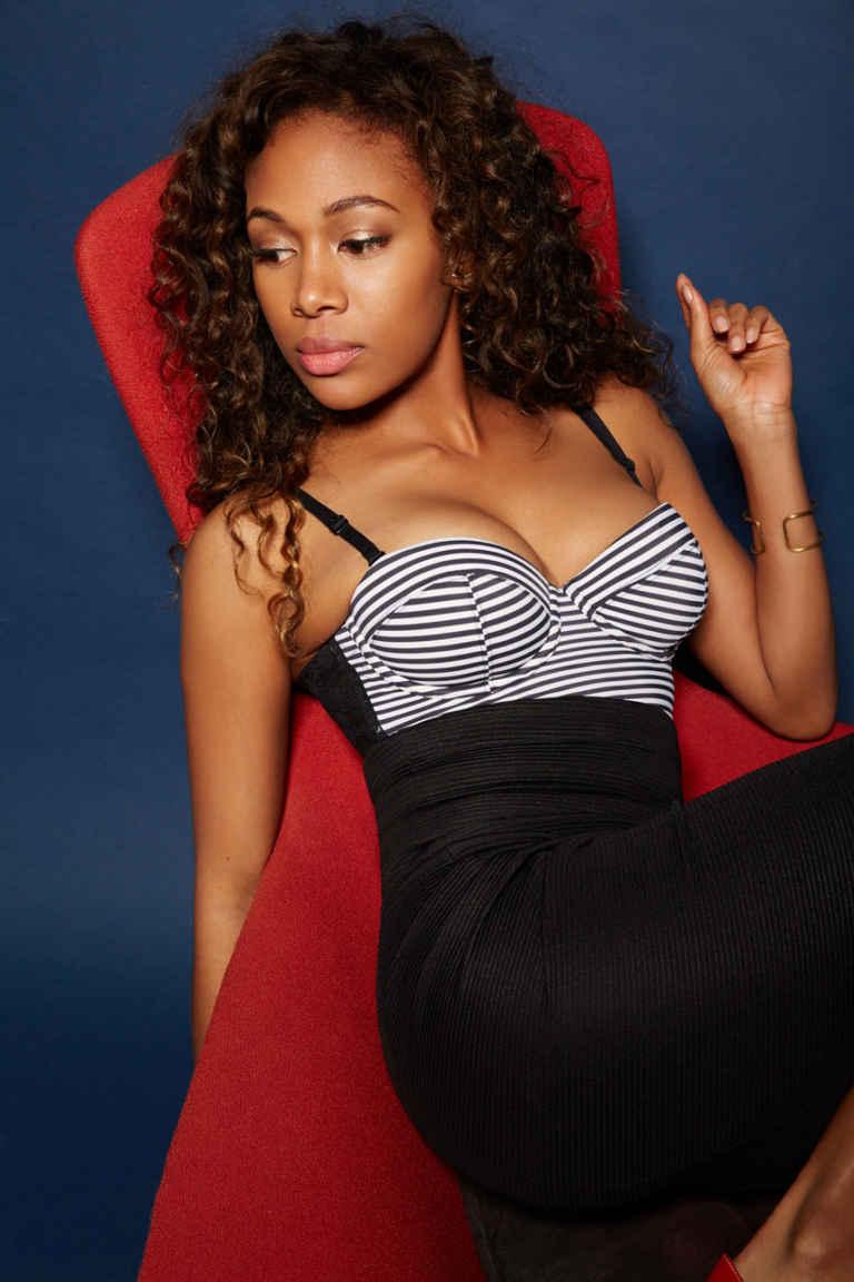 Jamaican-Nigerian Actress Nicole Beharie Sex Scene Gifs And Pics - Black Celebs Leaked-1132