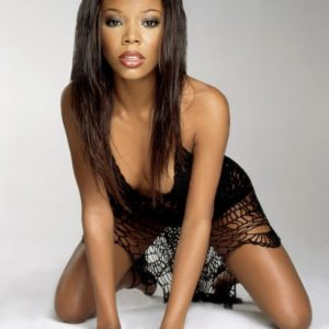 Gabrielle Union modeling on her knees
