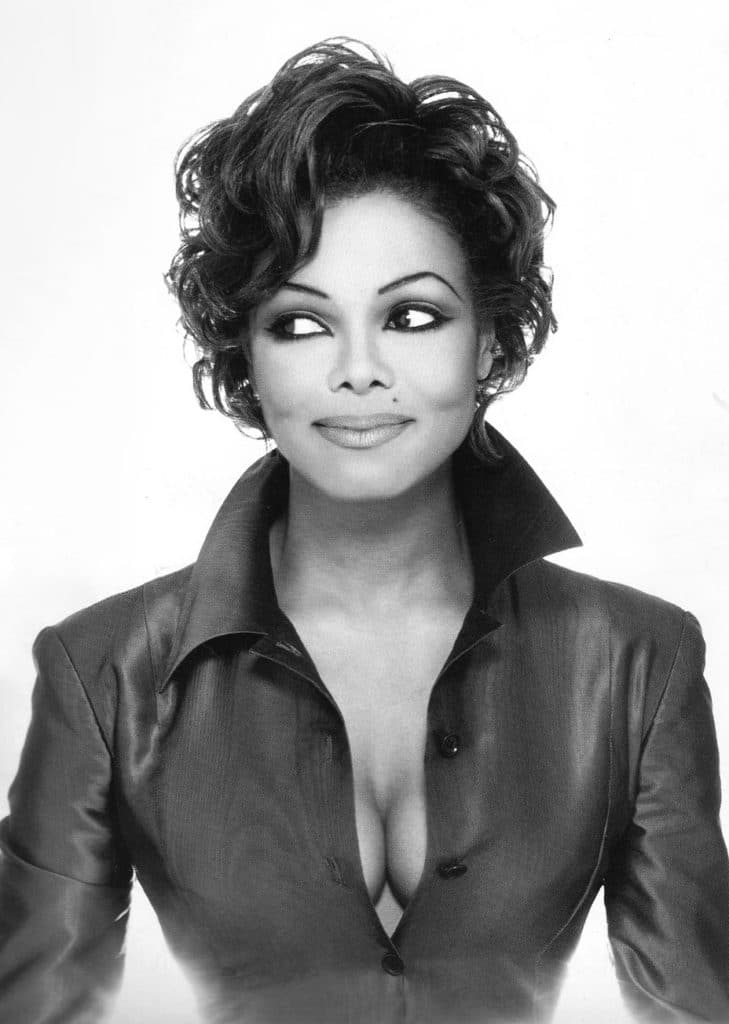 Janet Jackson crazy cleavage