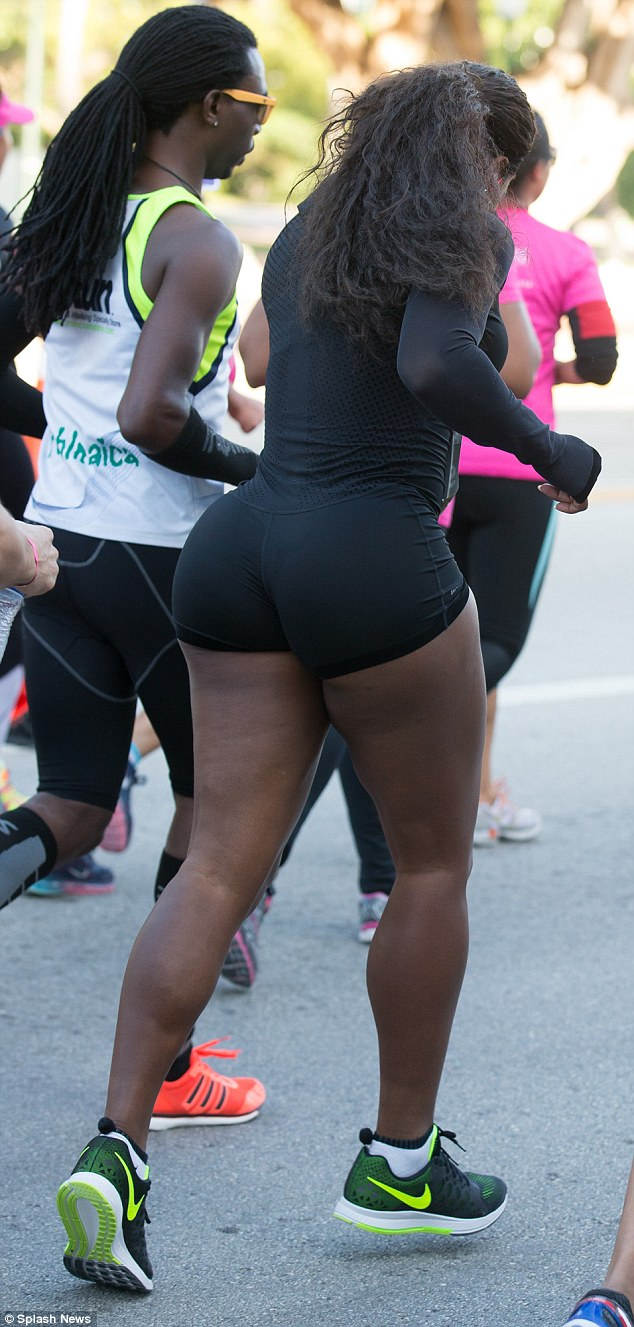 You serena williams butt think, that