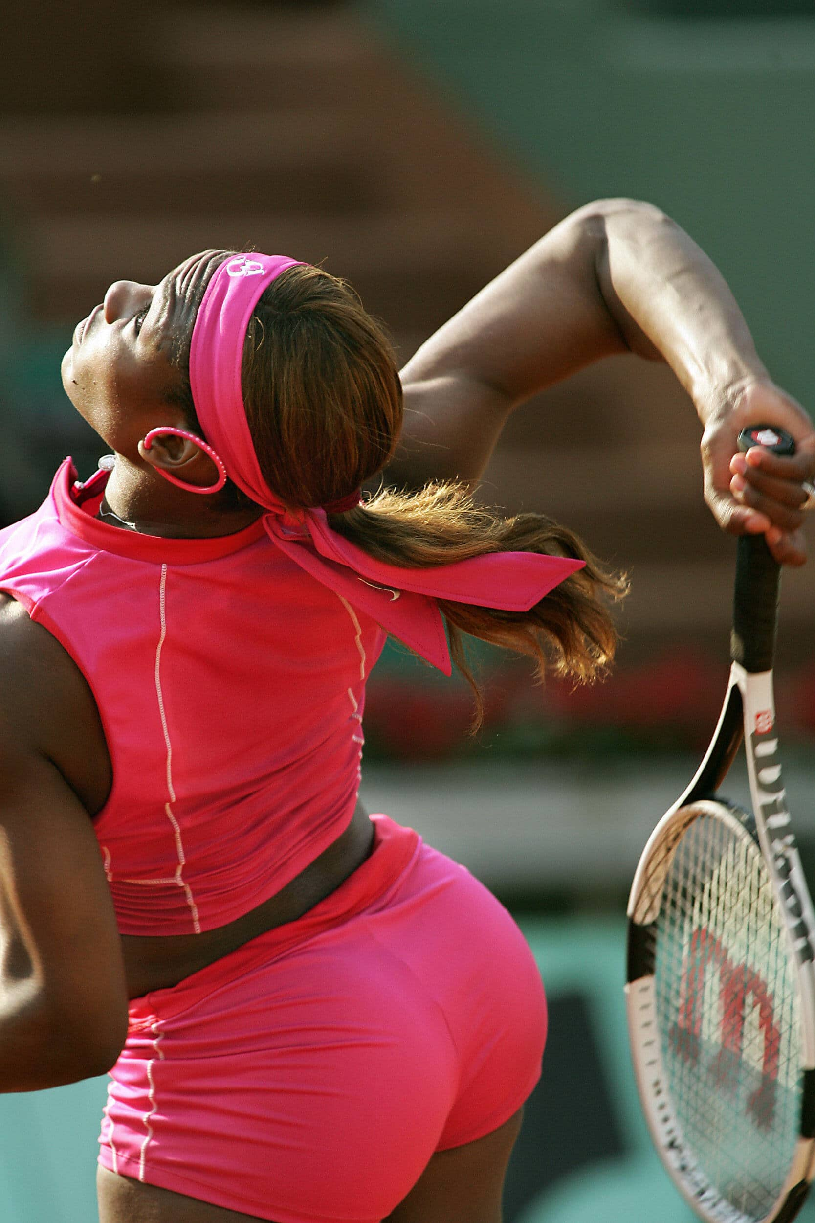 Serena williams pink yoga pants, naked pakistani mom pics