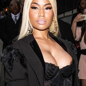 Nicki Minaj posing